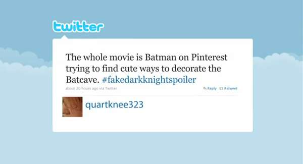 Caped Crusader Hashtags