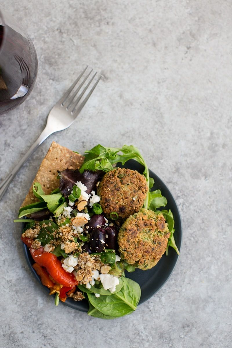 Superfood Falafel Patties