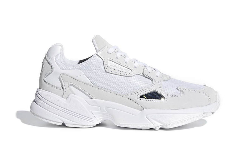 Modern All-White Sneakers
