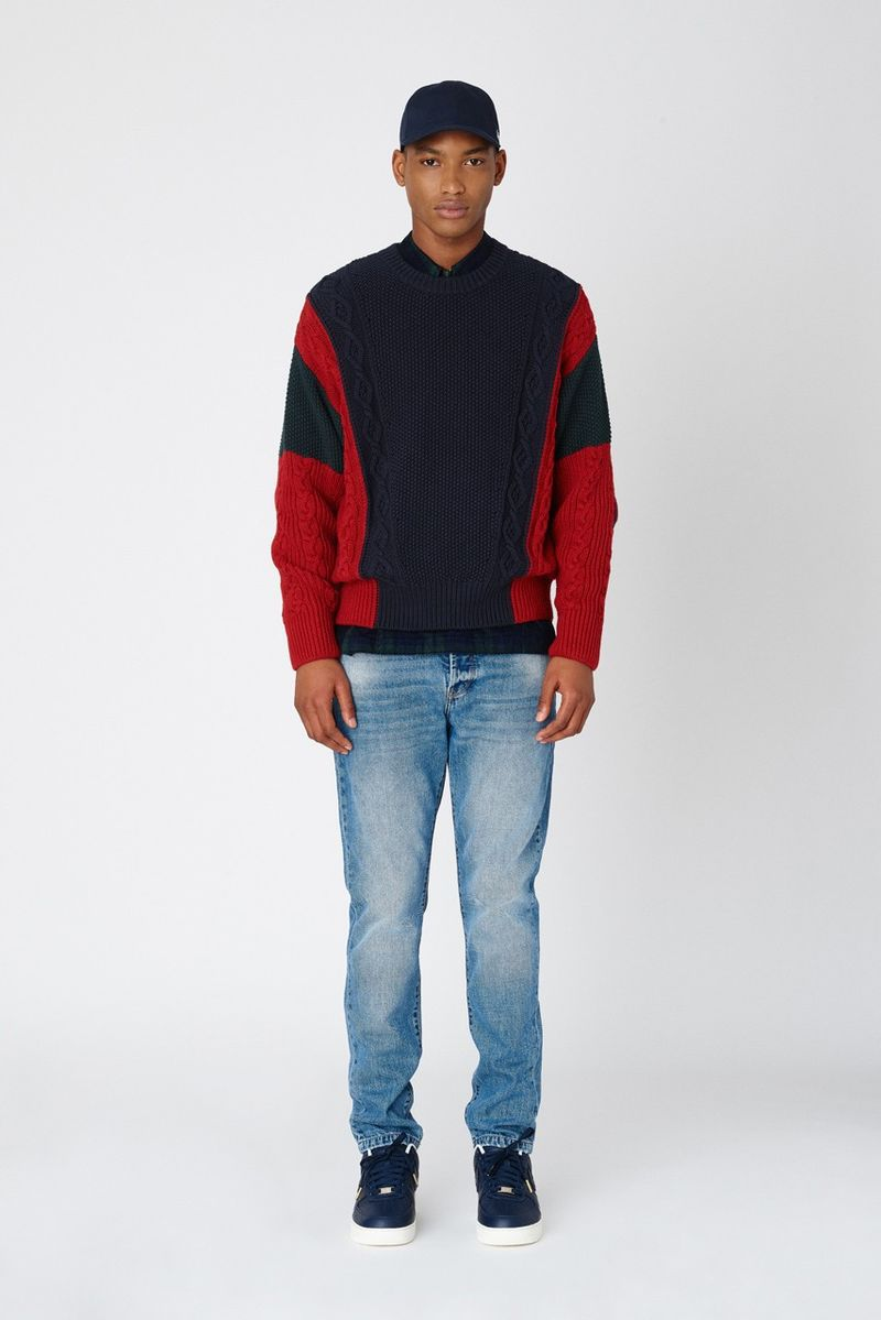Preppy Americana Warm Streetwear