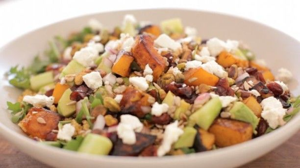 Fall Squash Salads