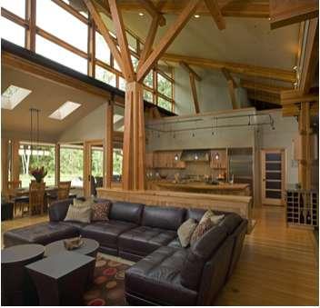 Reclaimed Wood Residences