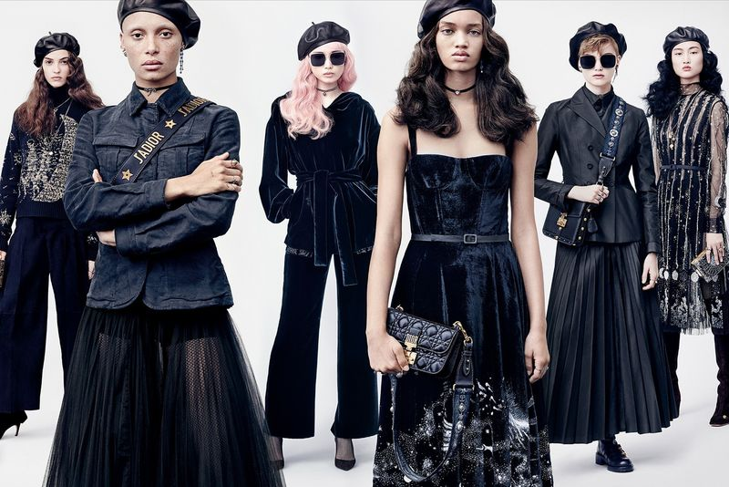 Military-Inspired High Fashion Campaigns