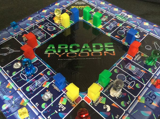 Arcade Ownership Board Games