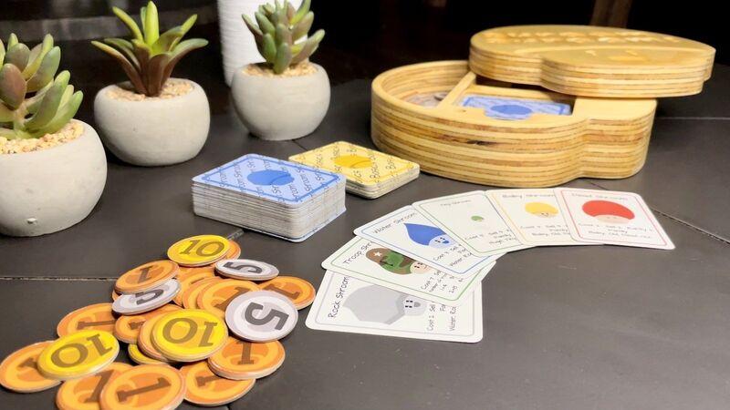 Educational Mushroom Card Games