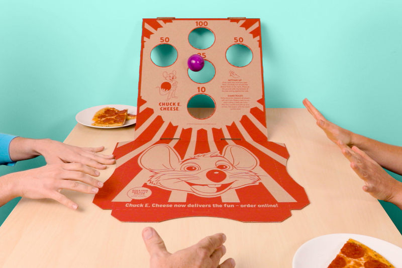 Play-Inspiring Pizza Boxes