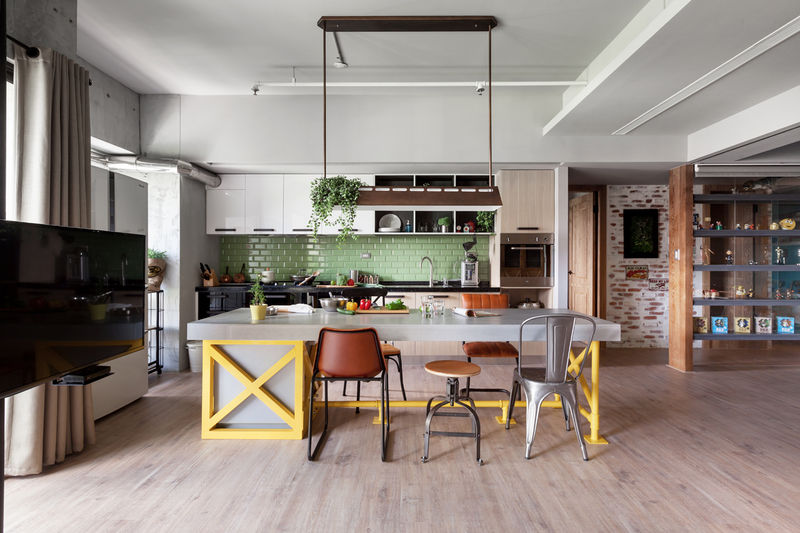 Kitchen-Focused Dwellings