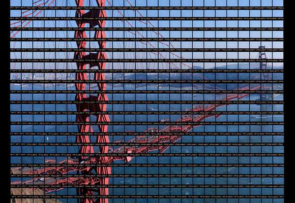 Iconic Remixed Landmark Photography