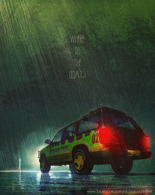 Cinematic Car Posters