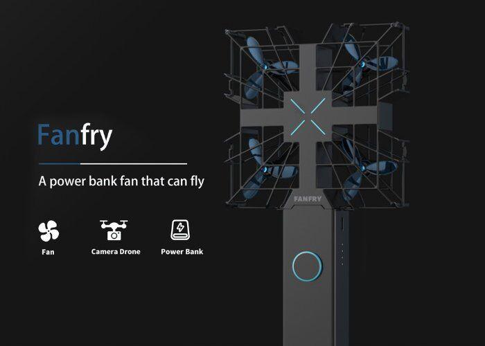 Triple-Function Flying Drones