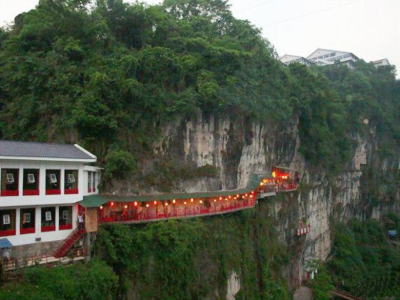 Oriental Cliffside Eateries