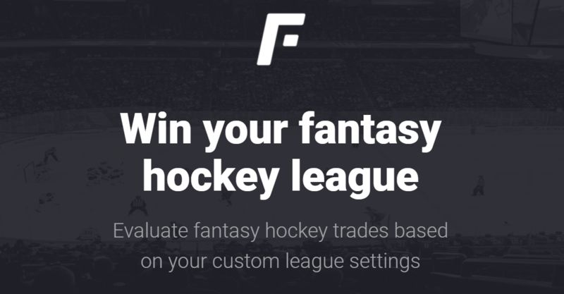 Analytical Fantasy Hockey Tools