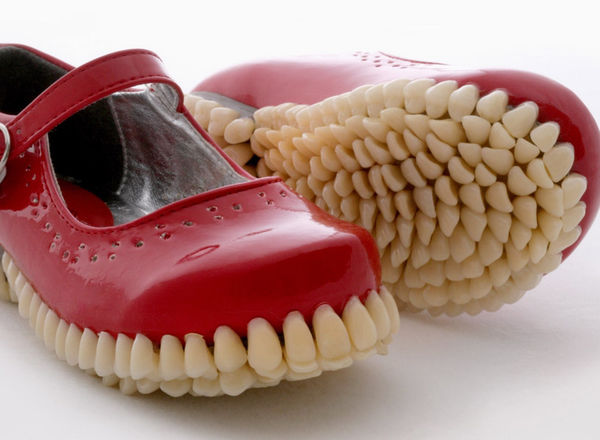 Dental-Bottomed Shoes (UPDATE)