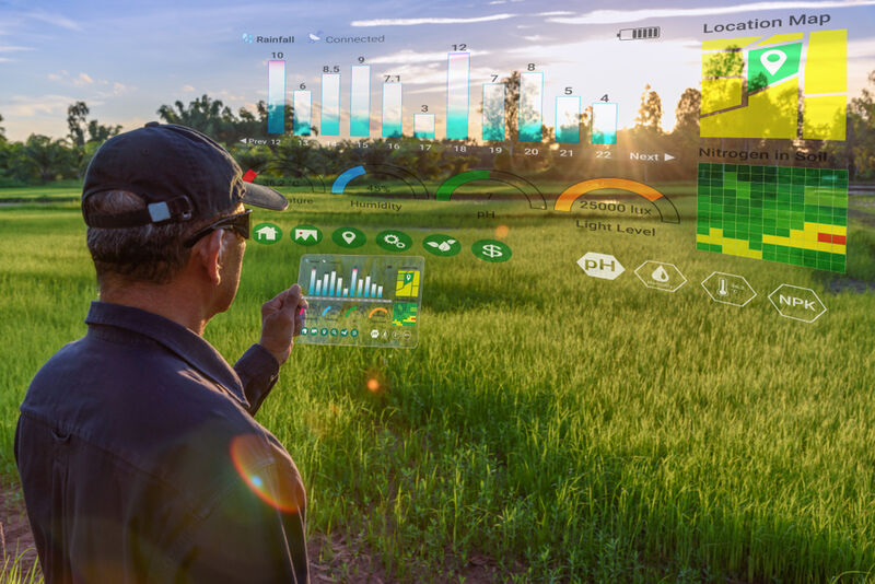 Satellite-Powered Smart Farming Tools