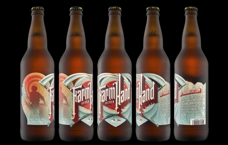Farmer-Inspired Beer Labels