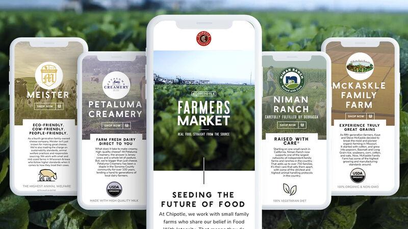 Virtual Farmers' Market Apps