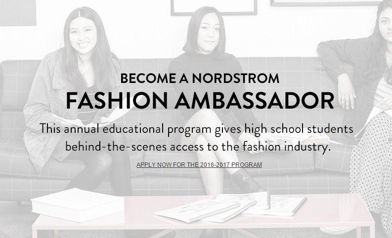 Fashion Ambassador Programs