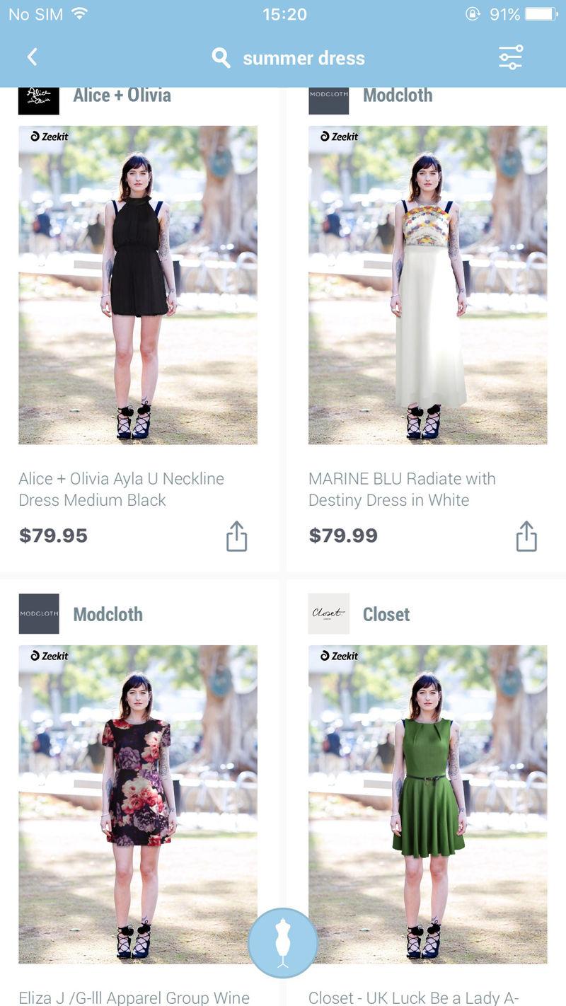 Virtual Fashion-Fitting Apps