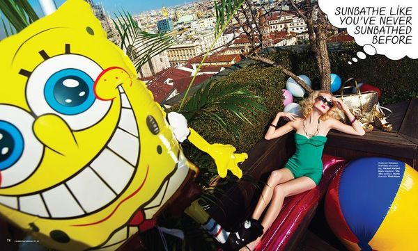 SpongeBob-Themed Editorials