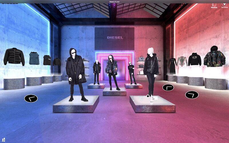 Digital Fashion Showrooms