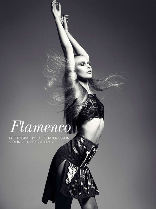 spanish music inspired editorials fashion gone rogue flamenco spanish music inspired editorials