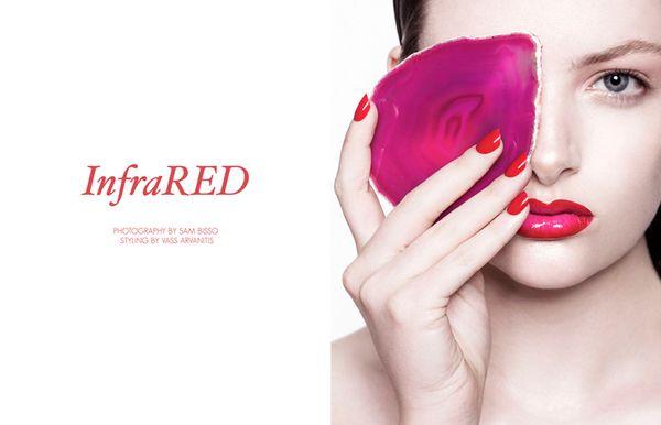 Scarlet Beauty Editorials