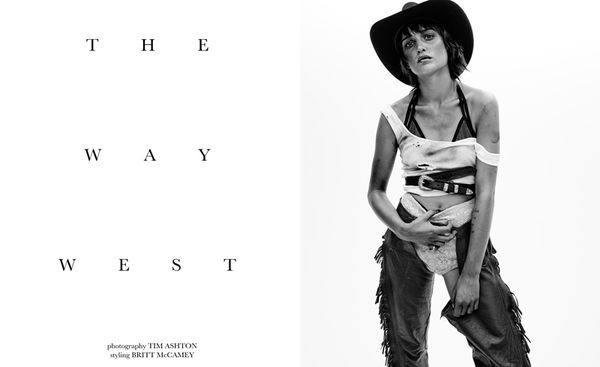 Gritty Cowgirl Editorials