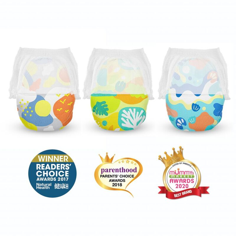 Eco-Friendly Soft Printed Diapers