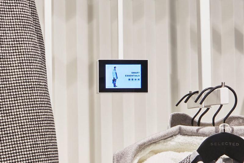 Tech-Enabled Fashion Shops
