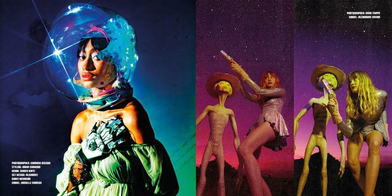 Inclusive Sci-Fi Fashion Zines