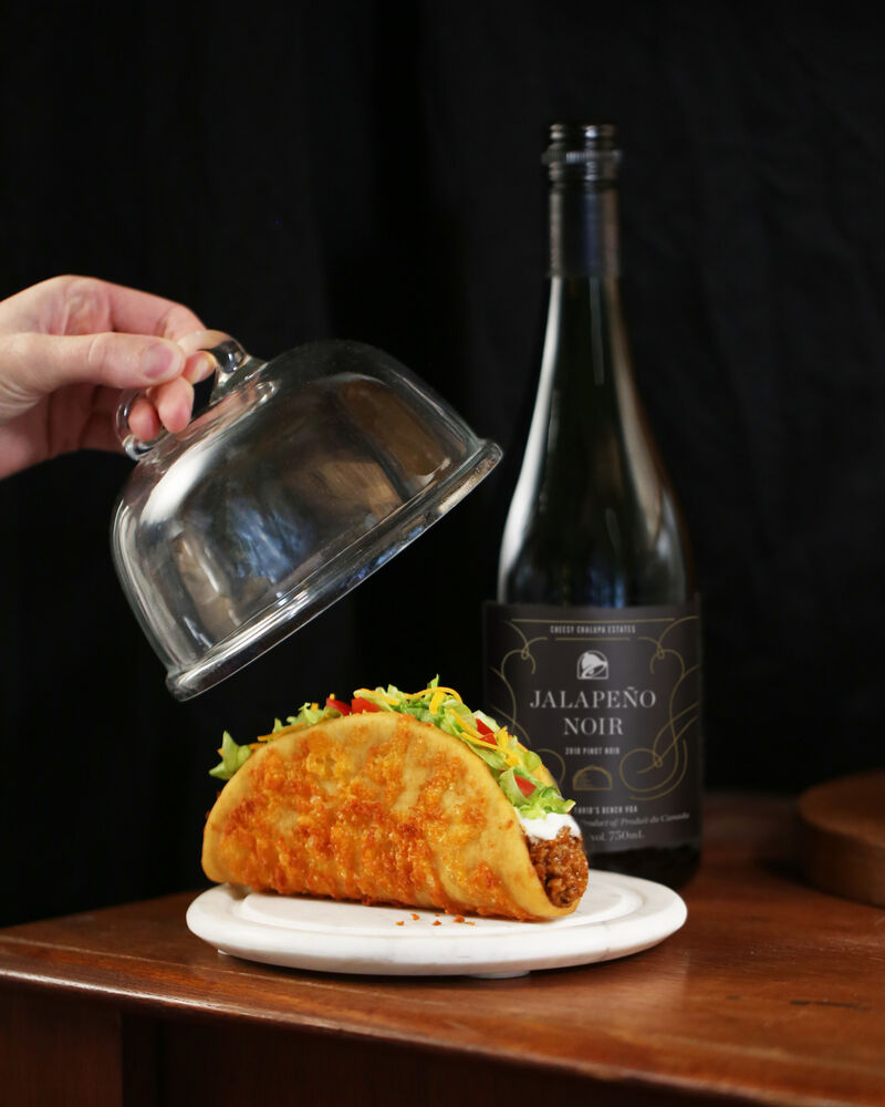 Wine-Paired Cheese Tacos