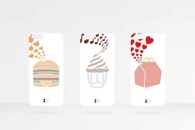 Fast Food Emoji Ads