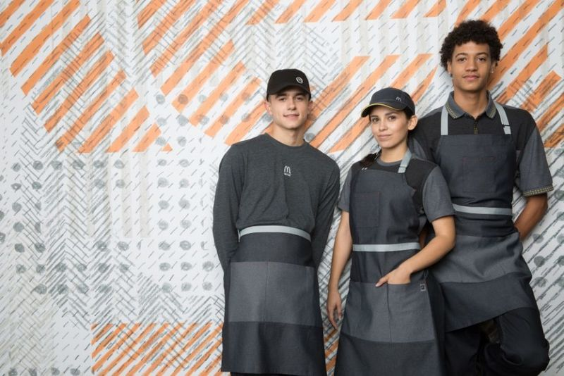 Adaptable QSR Uniforms
