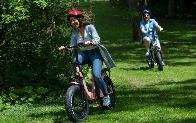 Step-Through Frame Electric Bikes