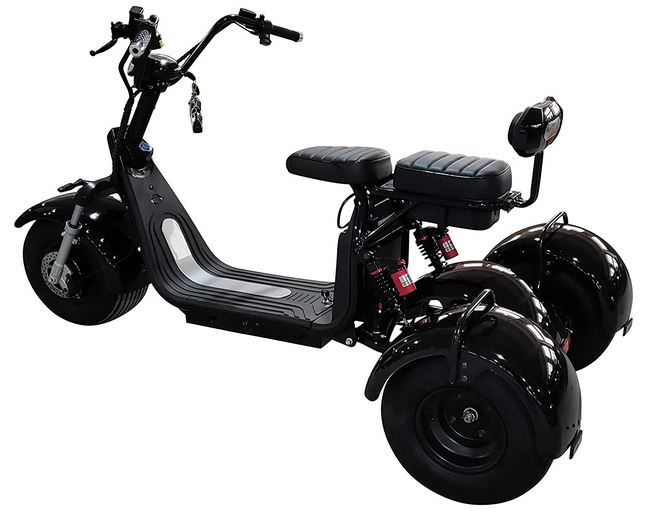 Balanced Suspension Scooters