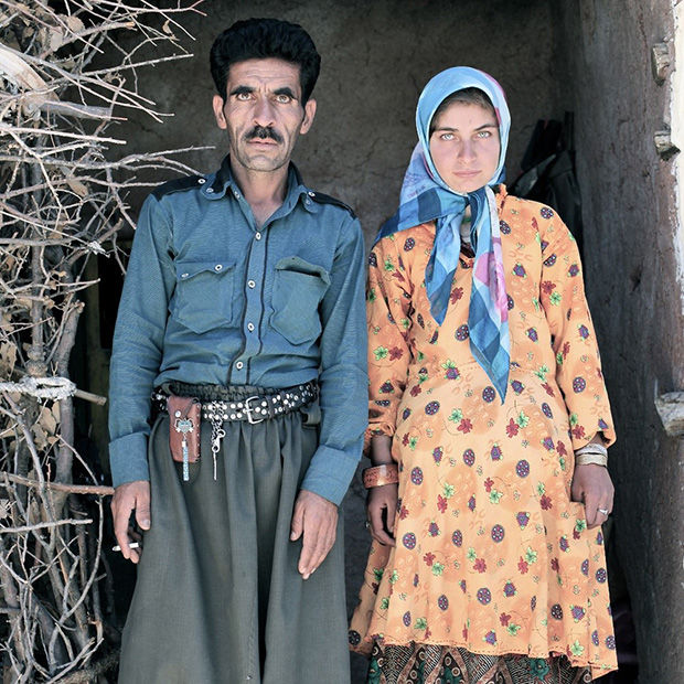 Iranian Father-Daughter Photos