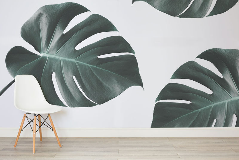 Faux Foliage Wallpapers