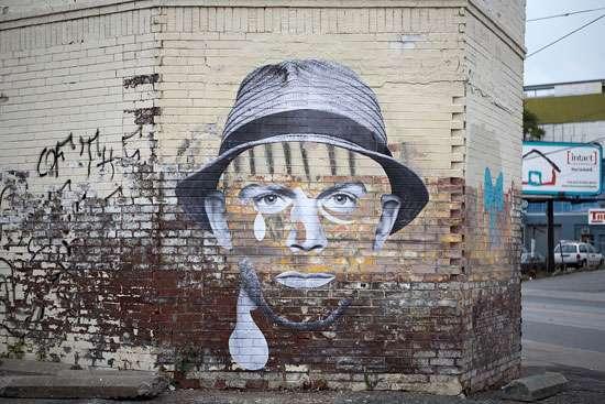 Gritty Graffiti Portraits
