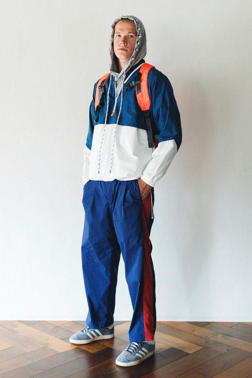 Retro Sports-Influenced Streetwear