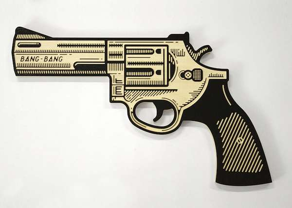 African Weapon Artwork