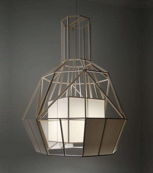 Wooden Frame Lighting