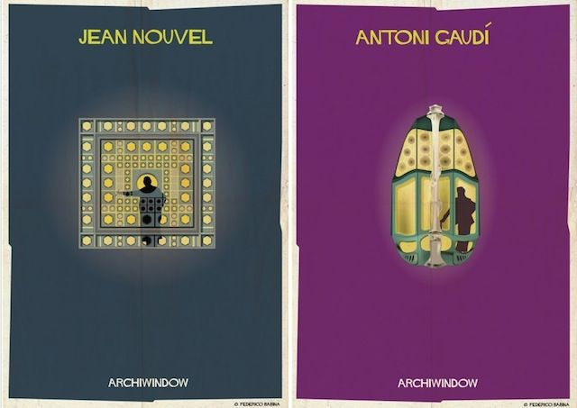 Architect-Specific Window Posters