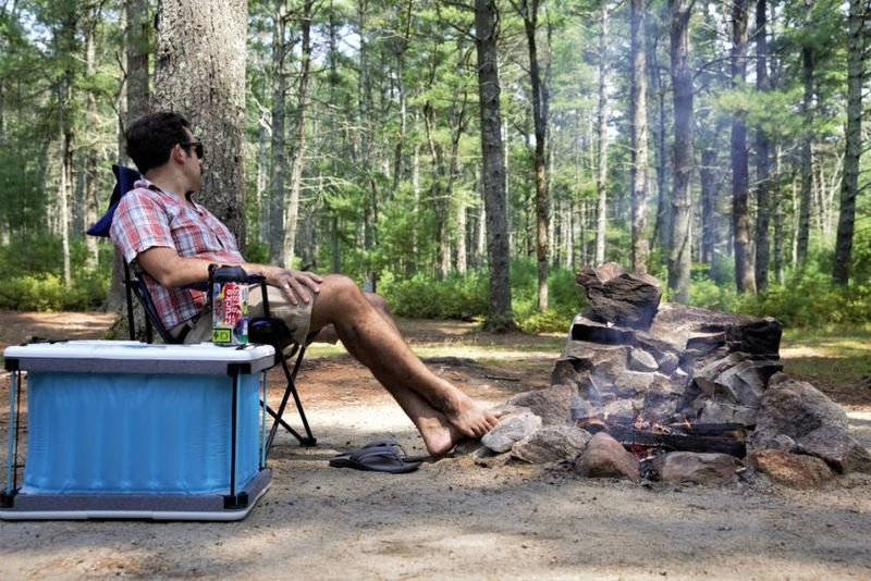 Water-Powered Camping Coolers