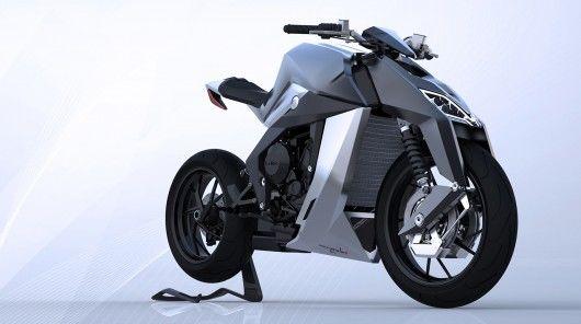 Futuristic Feline Motorbikes