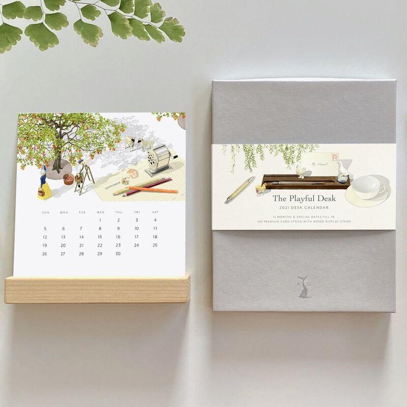 Imaginative Illustrated Calendars