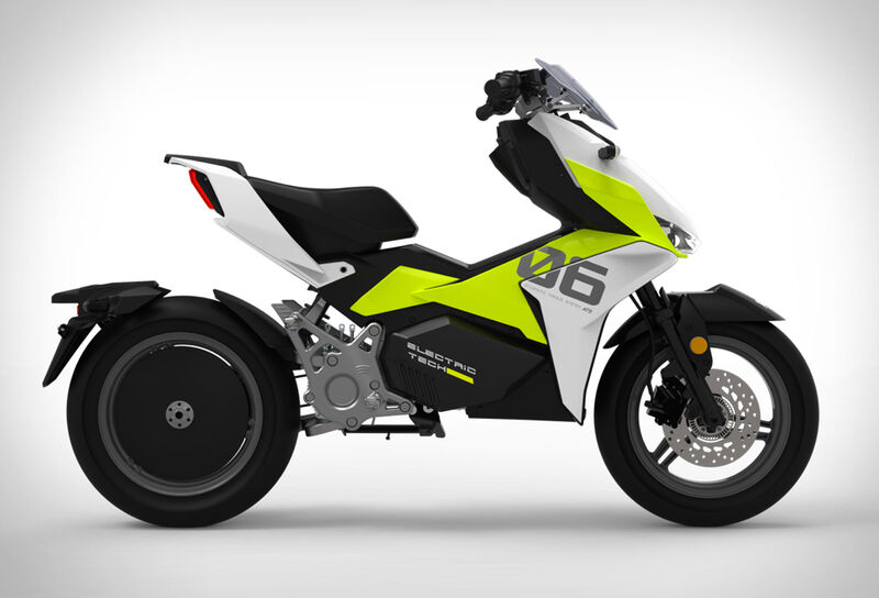 Aggressive Styling Electric Motorcycles