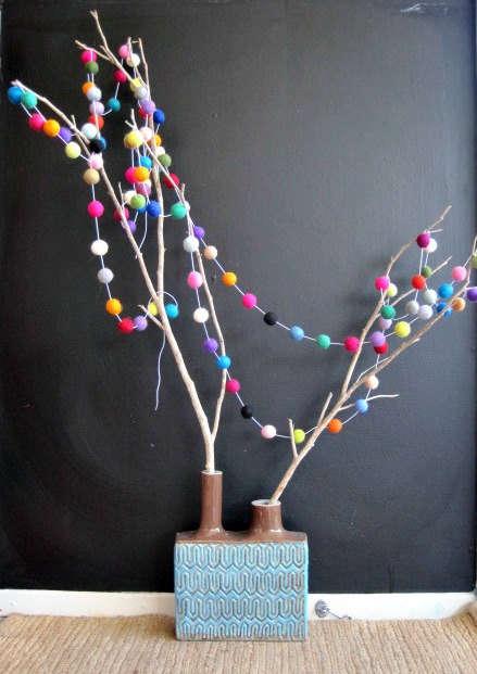 DIY Rainbow Tree Wraps
