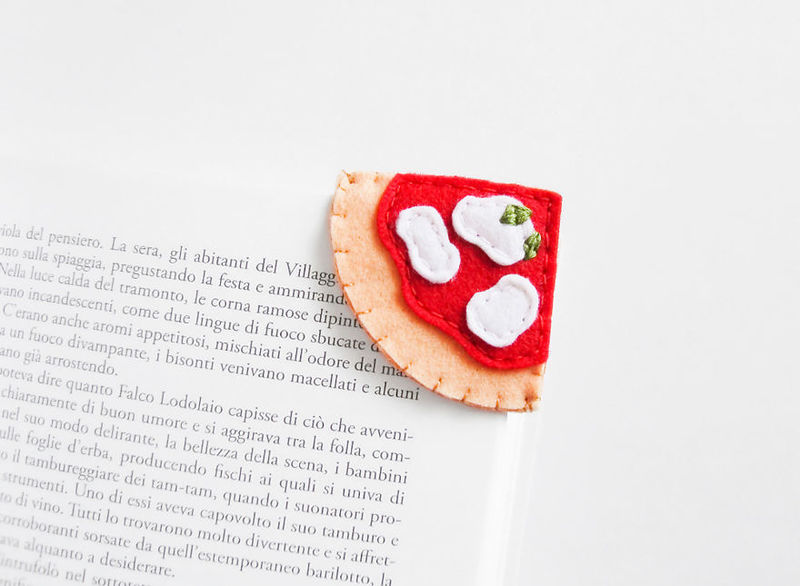 Food-Themed Bookmarks