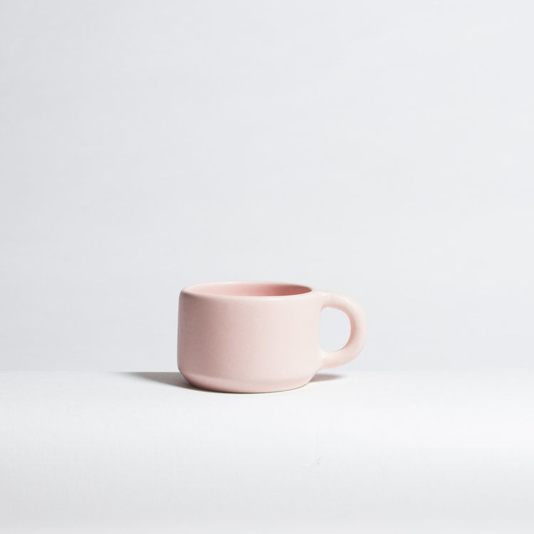 Squat Multicolor Cappuccino Cups