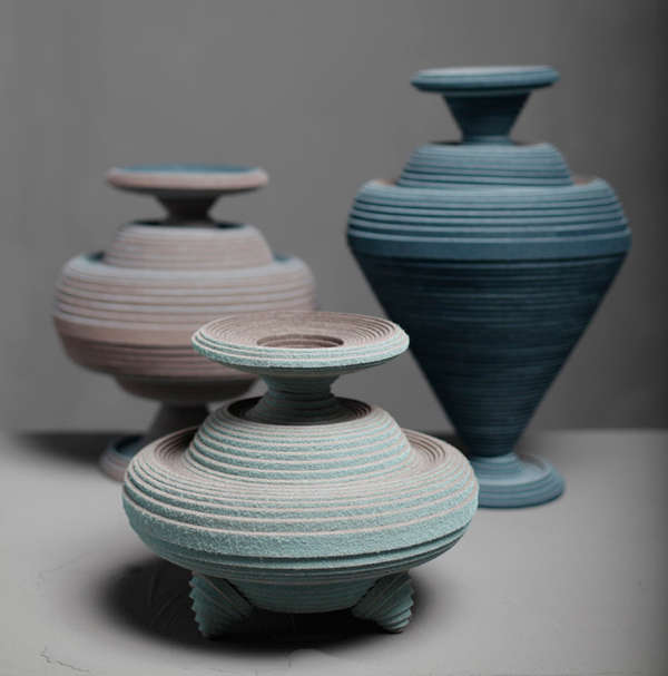 Smash-Proof Felt Pottery